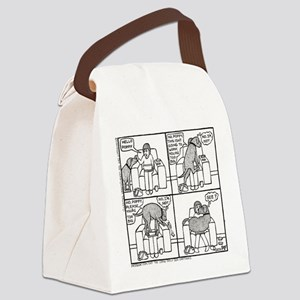 Poppy The Lapdog - Canvas Lunch Bag