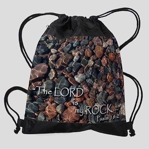 Lord is my rock... Drawstring Bag