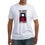 1ST ARMY Fitted T-Shirt