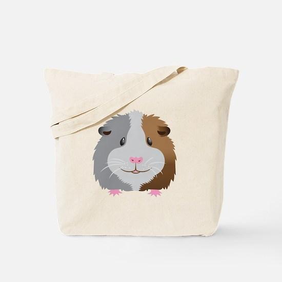 Guinea pig face Tote Bag