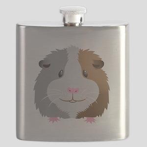 Guinea pig face Flask