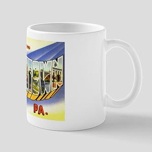 Allentown Pennsylvania Greetings Mug