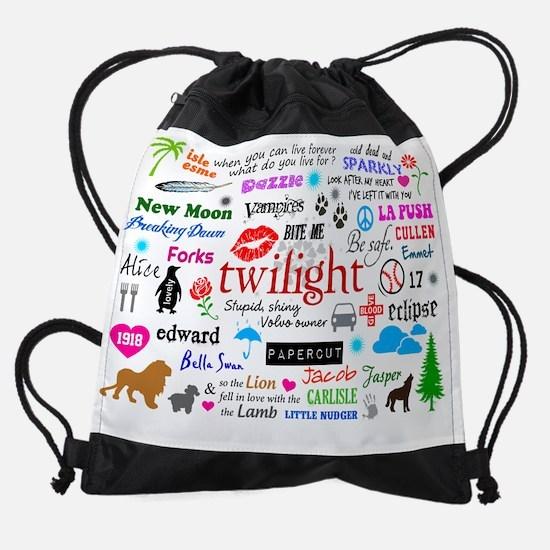 TwiCal Cover Drawstring Bag