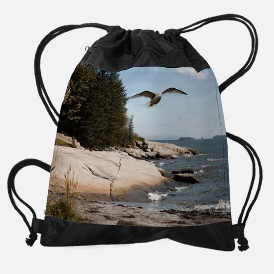 maineyearly7.png Drawstring Bag