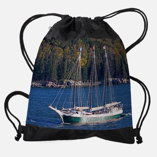 maineyearly8.png Drawstring Bag