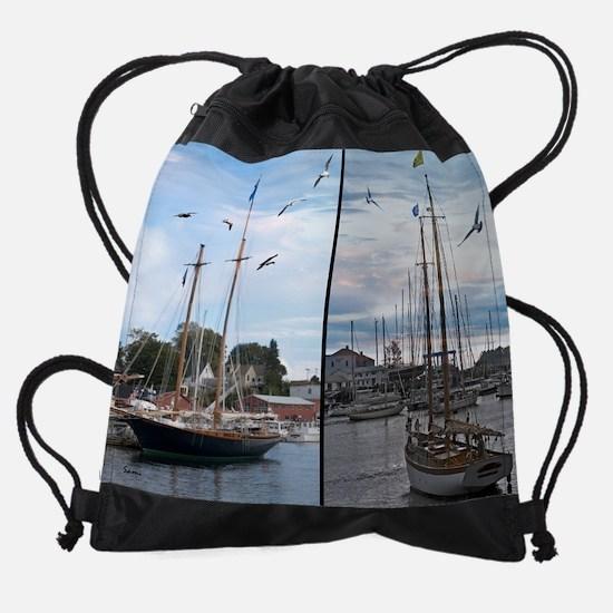 maineyearly9.png Drawstring Bag