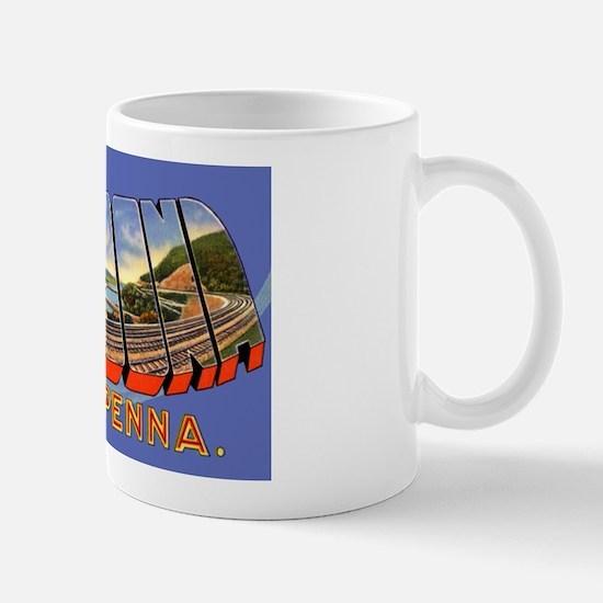 Altoona Pennsylvania Greetings Mug