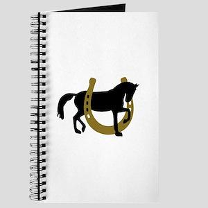 Horse horseshoe Journal