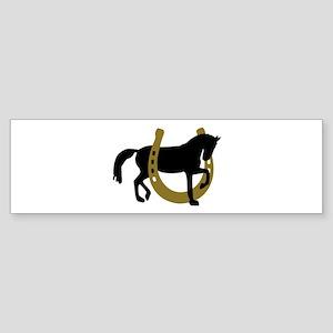 Horse horseshoe Sticker (Bumper)
