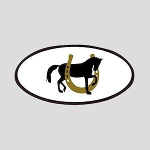 Horse horseshoe Patches