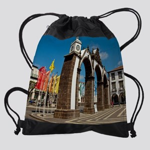 Ponta Delgada, Azores Drawstring Bag