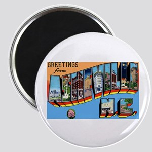 Asheville North Carolina Greetings Magnet