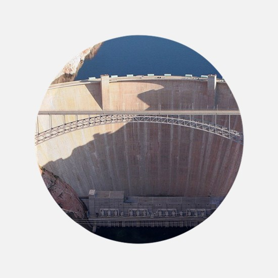 Glen Canyon Dam and Bridge, Arizona Button