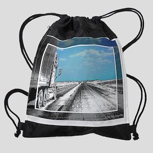 calendar_truckhighwayPNG Drawstring Bag