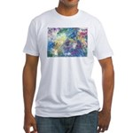 """Fitted T-shirt (Made in the USA) """"Mind V"""