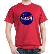 NASA Meatball Logo Dark T-Shirt