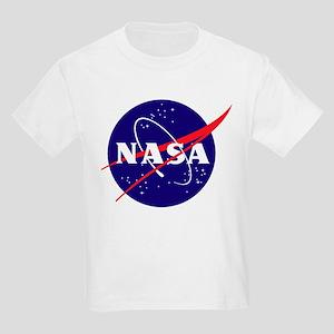 NASA Meatball Logo Kids Light T-Shirt