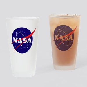 NASA Meatball Logo Drinking Glass