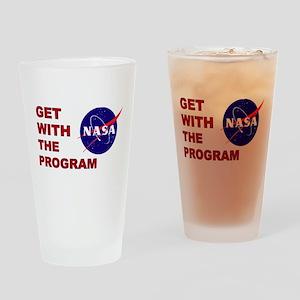 Program Logo Drinking Glass