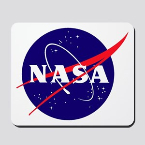 NASA Meatball Logo Mousepad