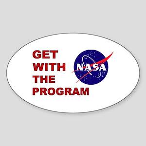 Program Logo Sticker (Oval)