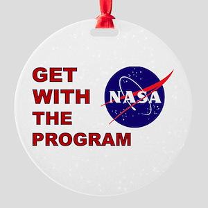 Program Logo Round Ornament