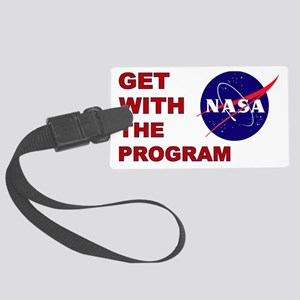 Program Logo Large Luggage Tag