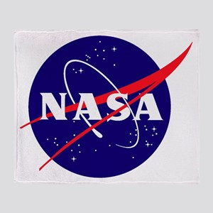 Nasa Meatball Logo Throw Blanket
