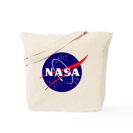 NASA Meatball Logo Tote Bag
