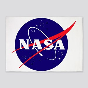 NASA Meatball Logo 5'x7'Area Rug
