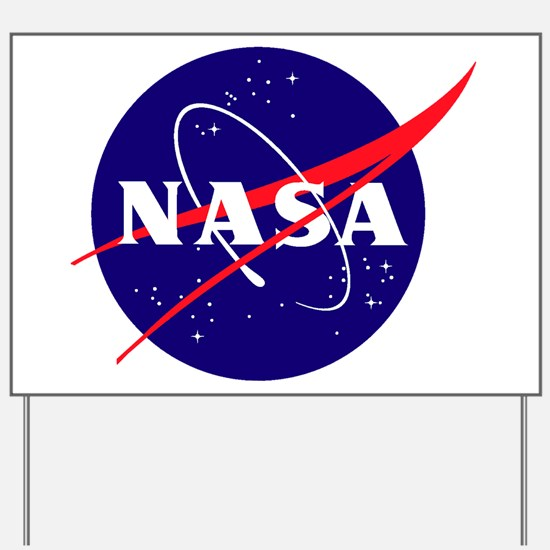 NASA Meatball Logo Yard Sign