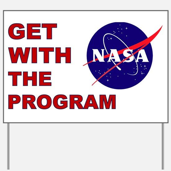 Program Logo Yard Sign