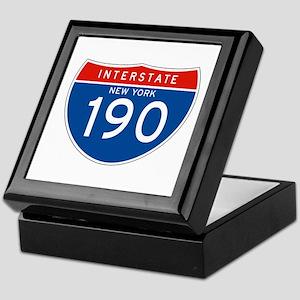 Interstate 190 - NY Keepsake Box