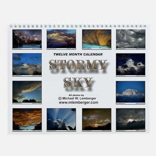 Stormy Sky Wall Calendar