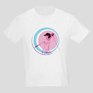 Pink Fencer Kids T-Shirt