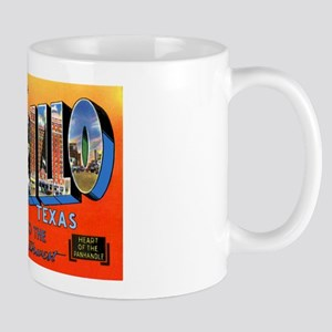 Amarillo Texas Greetings Mug