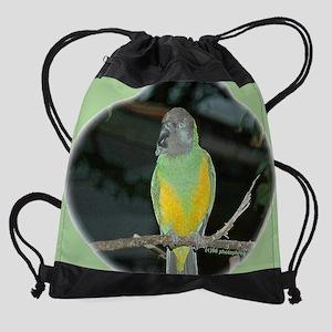 Senegal Parrot Drawstring Bag