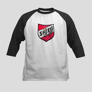 Speed '40 Ford Kids Baseball Jersey