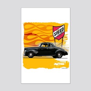 Speed '40 Ford Mini Poster Print