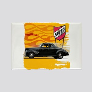 Speed '40 Ford Rectangle Magnet