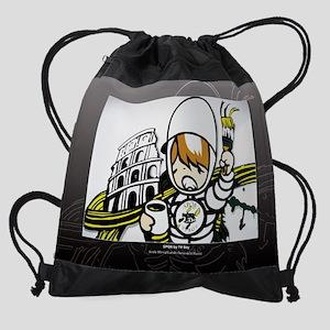 Colosseo TV boy Drawstring Bag