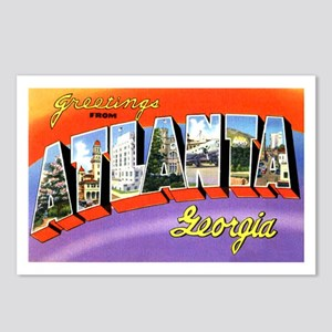 Atlanta Georgia Greetings Postcards (Package of 8)