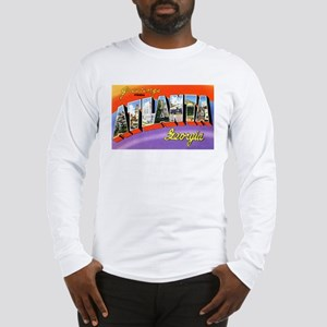 Atlanta Georgia Greetings (Front) Long Sleeve T-Sh