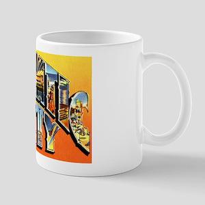 Atlantic City New Jersey Greetings Mug