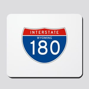 Interstate 180 - WY Mousepad