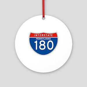 Interstate 180 - PA Ornament (Round)