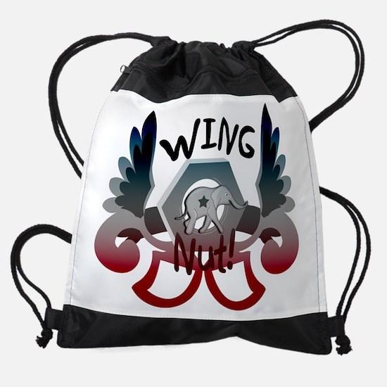 wingnut_elephantdark copy.png Drawstring Bag