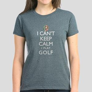 Can't Keep Calm Lady Golf Women's Dark T-Shirt
