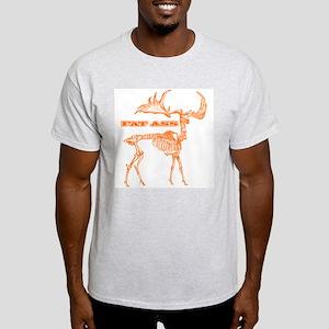 FAT ASS Ash Grey T-Shirt