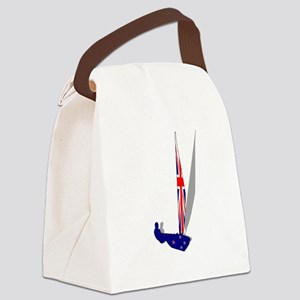 New Zealand Sailing Canvas Lunch Bag